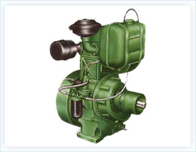Single Cylinder Air Cooled Diesel Engines With Cast Iron Gear Cover Extra Lubrication